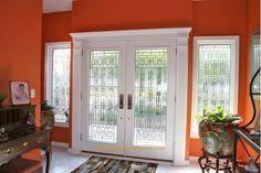 Double+Entry+Door%2C+Full+Designer+Glass%2C+White+Finish%2C+Wood+grain+%2C+Side+Windows