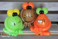 Balloon Frogs