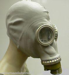 Rubber GAS Mask BAG Filter SET Bong Fancy Dress Vintage Russian GP5 Adult | eBay