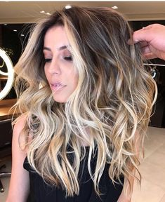 Perfect! Why can't I get highlights like this? #highlights #balayage