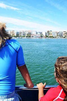 Vista Bahia De Algudia Desde El Barco