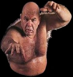George Steele-Scouted by World Wide Wrestling Federation champion Bruno Sammartino, he began working in Pittsburgh in 1967 on the popular Studio Wrestling TV show broadcast on WIIC-TV (later WPXI-TV) Channel 11.