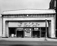 Egyptian Revival Architecture photography by Harold Allen: Cairo Supper Club, Chicago, Illinois  1962 Harold Allen (1912–98)