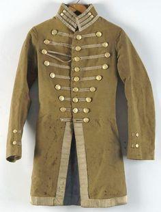 Uniform; Civil War, Confederate, Frock Coat, Identified, South Carolina Militia.