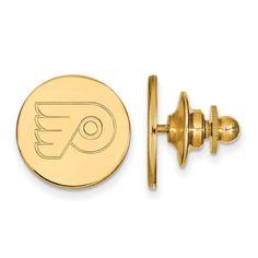 14ky NHL LogoArt Philadelphia Flyers Lapel Pin