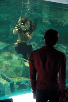 tied underwater - Google Search
