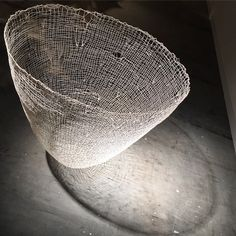 Gjertrud Hals - Ultima Sculpture in thread, epoxy and resin at Galerie Maria Wettergren