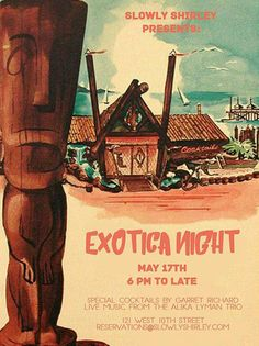 Exotia Night: A Midcentury Cocktail Experience