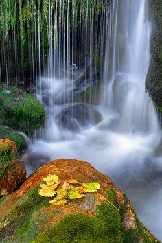 Waterfall by Janez Tolar