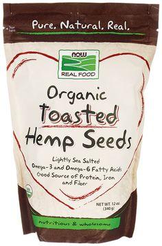 Organic Toasted Hemp Seeds