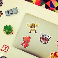 My Machine looks more adorable with stickers   Hey bad ass  .. #laptop #apple #macbook #toys #sticker #skins #skin #protector #wallstickers #asus #zte #psp #xbox #lg #coolpad #vapeindonesia #tokovape #vapeon #candy #jualvapor #apvi