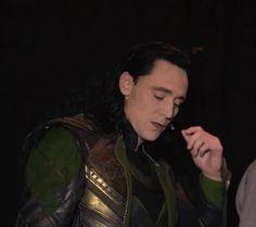 Loki BTS SDCC 2013