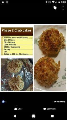 Crab Cakes. YUMMY! - Omni Phase 2 #DietingWithHCGPlans