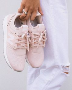 "5,283 Likes, 151 Comments - PRINCESS POLLY ❨✨ (@princesspollyboutique) on Instagram: "" Baby pink kicks for the baby girls, we NEED! Shop the New Balance 247 Classics in the…"""