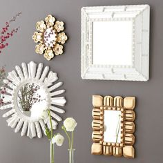 West Elm Wall Mirror decorative mirrors and modern wall mirrors | west elm | for my