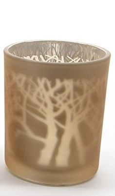35 Luxury Lodge Glass Gold and Silver Laser Tree Christmas Tea Light Candle Holder >>> You can get more details by clicking on the image.