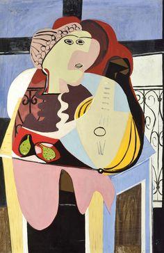 """Emil Filla: """"Zátiší s antickou bustou"""",1934, 146 x 97cm"""