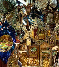 Marrakesh Mirrors : Morocco : Nancy Sirkis Photography: New York
