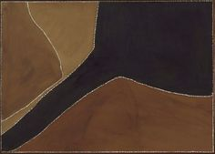 Ngarin Janu Country, (circa 1988) by Rover Thomas :: The Collection :: Art Gallery NSW