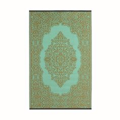It's not hard to feel good about this lightweight, reversible rug. Woven from recycled plastic in bright aqua and deep bronze, it gives a modern, eco-friendly twist to a handsome, traditional design. P...  Find the Udha Indoor/Outdoor Rug, as seen in the Bohemian Beach Wedding Collection at http://dotandbo.com/collections/set-the-scene-bohemian-beach-wedding?utm_source=pinterest&utm_medium=organic&db_sku=FAB0018-3x5