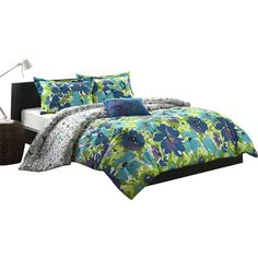 You should see this Jayna Comforter Set in Blue on Daily Sales! - $43.99 on sale!