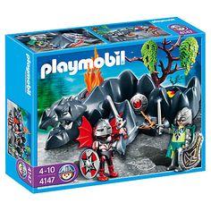 Buy Playmobil Dragon Land: Knight Compact Set Online at johnlewis.com
