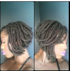 Yasss I love this style. Motivation for when my locs get a little longer.