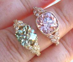 Custom Design: Laurel Engagement Ring Mount by JuliaBJewelry