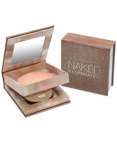 Urban Decay Naked Illuminated Shimmering Powder for Face & Body - Makeup - Beauty - Macy's Beauty Bay, Diy Beauty, Beauty Makeup, Drugstore Beauty, Makeup Tips, Sephora, Mascara, Eyeliner, Body Makeup