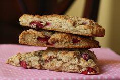 healthy strawberry scones recipe
