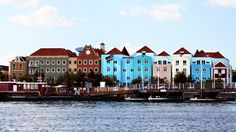 Curaçao is gorgeous ! Colourful building showcase the Dutch architecture - great vacation spot for Canadians wanting something more unique