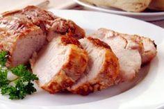 Receita de Lombo com Bacon na Pressão. Mais uma opção para deixar sua ceia de Natal mais saborosa!