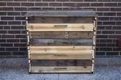 Pallet Dresser with Drawers