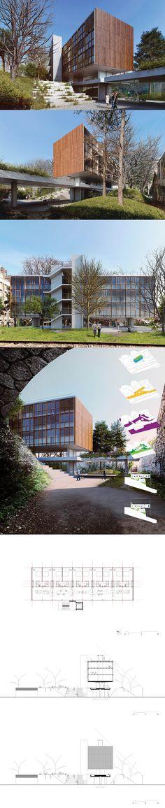 Residência de estudantes no Ourcq-Jaurès | SPBR Arquitetos