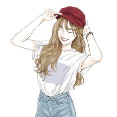 Drawing art girl artworks 22 Ideas for 2019 Pretty Anime Girl, Beautiful Anime Girl, Anime Art Girl, Beautiful Girl Sketch, Tmblr Girl, Cover Wattpad, Manga Kawaii, Cute Girl Drawing, Drawing Art