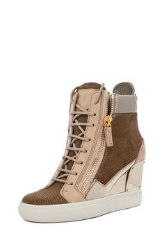 Giuseppe Zanotti #sneakers #wedges