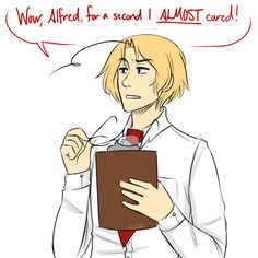 Matthew being matthew - again. Some things just never change. - Art by pencilstab.tumblr.com