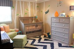 Whimsical nursery. #pinparty #nursery