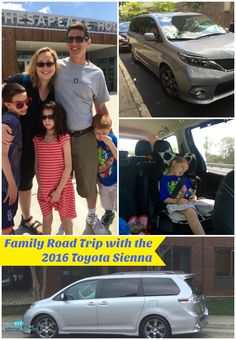 Family Road Trip with the 2016 Toyota Sienna | The Mama Maven Blog