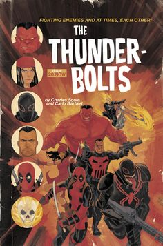 Thunderbolts by Phil Noto