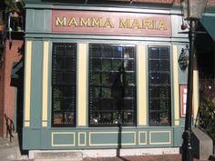Mamma Maria - North End, Boston, MA    Delicious Italian food, Old-world intimacy, warm atmosphere.