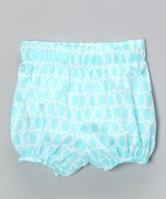 Take a look at this Aqua Circle Diaper Cover - Infant & Toddler by Bellinni by Bebe Bella Designs on #zulily today!