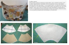 11- Bolso estilo media luna - con moldes y paso a paso Half moon style bag - with molds and step by step