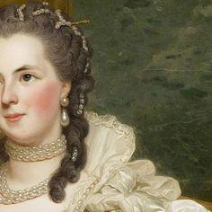 Alexander Roslin: La contessa d'Egmont Pignatelli in costume spagnolo. Olio su tela del 1763.