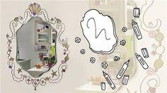 Maak een lijst om je spiegel en je kamer krijgt een hele nieuwe look!