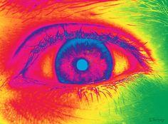 Psychedelic eye by ~mrsnerg