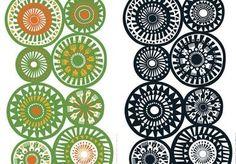 Marimekko textile design... can't get enough of this!
