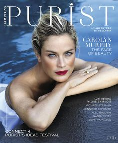 Carolyn Murphy featured on the Hamptons cover from September 2017 b0d1dac1f5