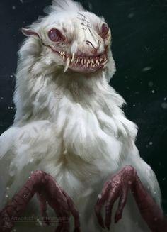 New Amazing Art Fantasy Mythical Creatures Ideas Dark Creatures, Mythical Creatures Art, Alien Creatures, Magical Creatures, Cute Fantasy Creatures, Dark Fantasy Art, Fantasy Artwork, Monster Concept Art, Fantasy Monster