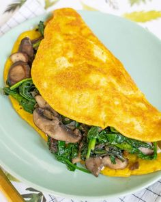 The BEST Vegan Omelet: How To Make A Vegan Omelet Without Eggs | The Edgy Veg